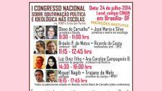 1º Congresso Nacional sobre Doutrinação Política e Ideológica nas Escolas