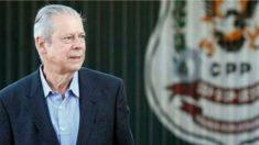 Repórteres encontram um abatido José Dirceu na saída da cadeia