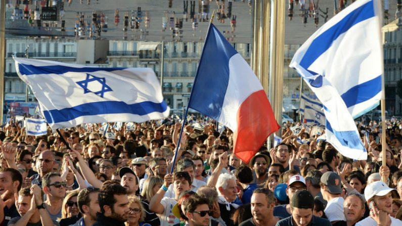 Milhares participam de marcha na França em apoio a Israel