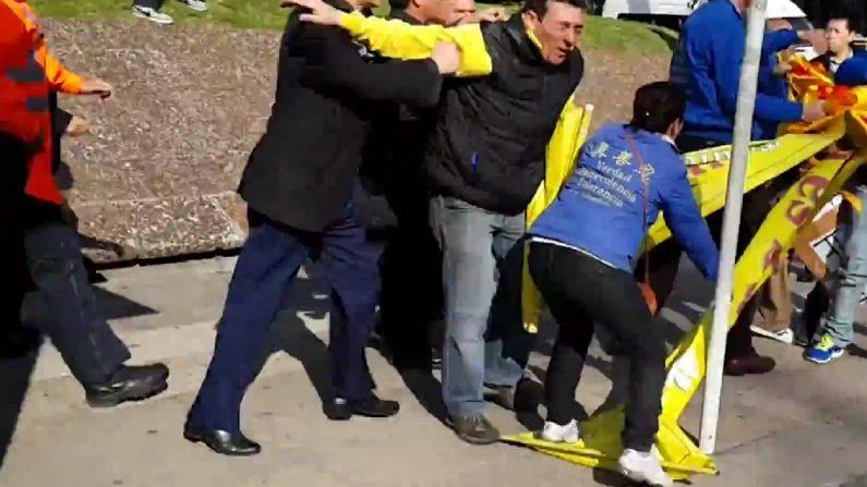 Violações de direitos humanos registradas no encontro da China na Europa