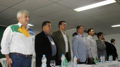 Astronauta Marcos Pontes se encontra com membros do Partido Militar em São Paulo