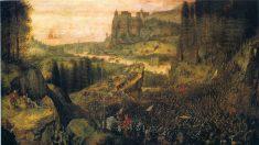 Tolice humana representada em 'A morte de Saul' de Bruegel