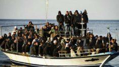 Número de imigrantes ilegais que entram na Itália pelo mar aumentou 500%
