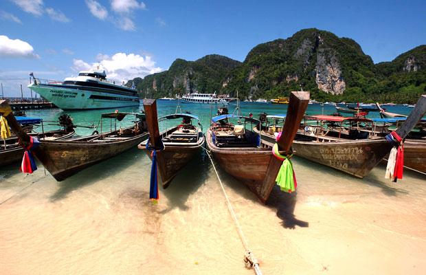 Ilhas Phi Phi, paraíso tailandês com grande biodiversidade