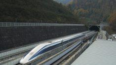 Japão testa trem maglev que viaja a 500 km/h