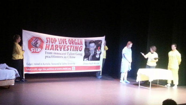 Peça teatral sobre extração de órgãos é destaque na Austrália
