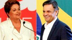 Segundo turno: Aécio atinge 54% e ultrapassa Dilma (46%), aponta pesquisa