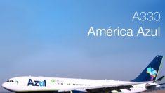 Azul estréia rota Campinas-Recife com Airbus A330-200