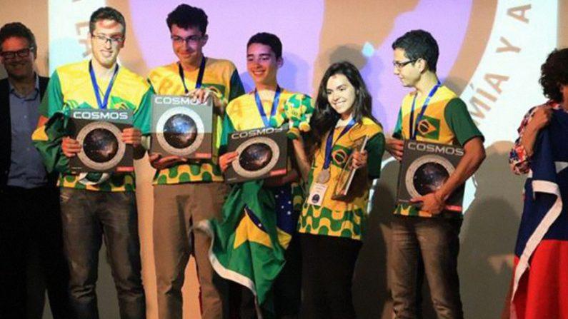 Brasil conquista cinco medalhas na Olimpíada Latino-Americana de Astronomia