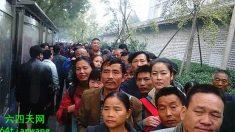 Milhares de peticionários cercam grande reunião do regime chinês