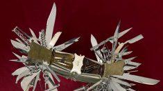Veja um dos maiores e mais antigos canivetes do mundo