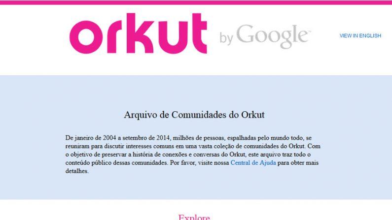 Como resgatar seus dados do Orkut