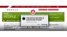 Para o PT, assinantes da petição aos EUA são 'vira-latas brasileiros'