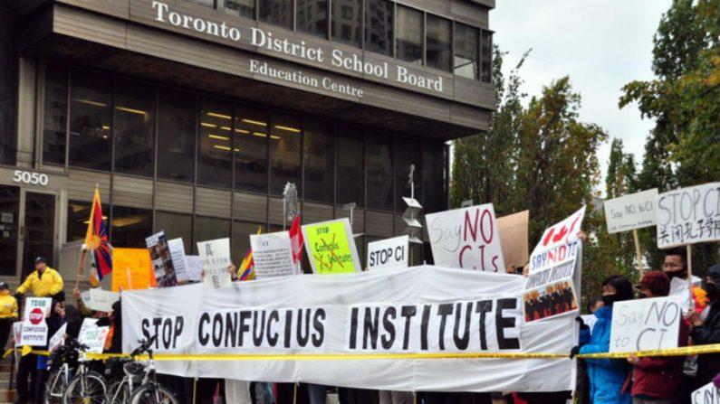 Toronto encerra parceria com Instituto Confúcio