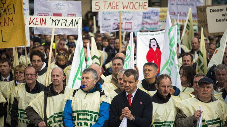 Ferroviários alemães mantém maior greve dos últimos 20 anos no país