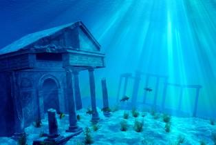 Cidades no fundo do oceano dão vida ao mito de Atlântida