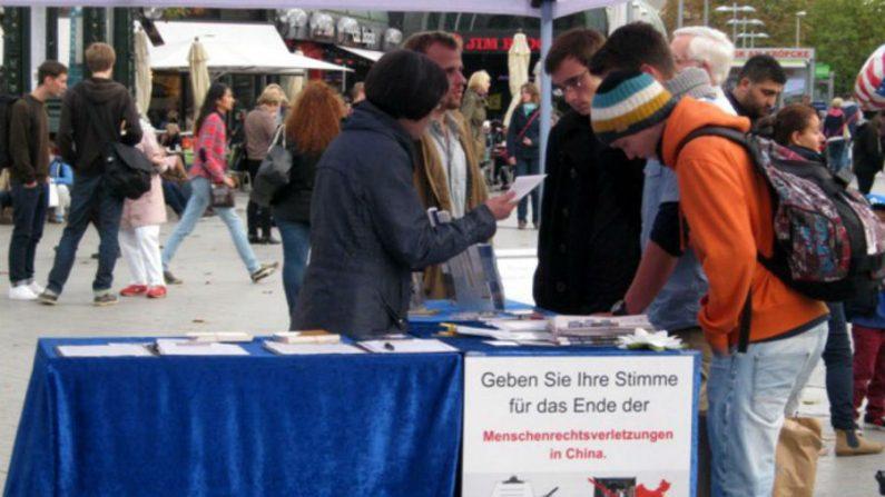 Médicos alemães apoiam fim da extração criminosa de órgãos na China
