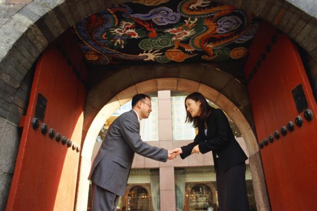 """Expressão chinesa: """"Cortesia sugere reciprocidade"""""""