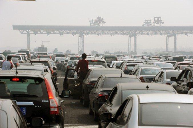 Rodovias chinesas são vias de corrupção