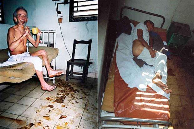 Não é Auschwitz, mas sim um hospital em Cuba (+vídeo)