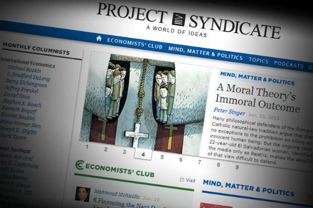 Project Syndicate: o oráculo de George Soros