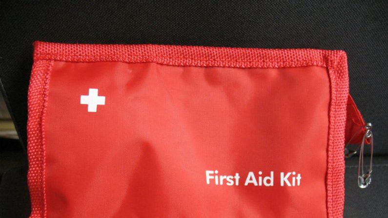 kit natural de primeiros socorros para machucados