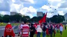 Militantes pró-Dilma atacam ativistas pacíficos na cerimônia de posse