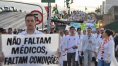 Não vale mais a pena ser médico no Brasil