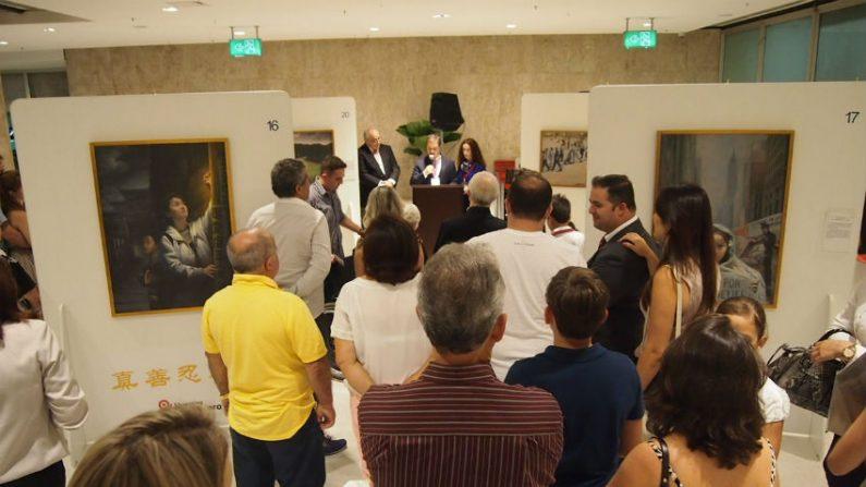Shopping Ibirapuera recebe Exibição de Arte que relata perseguição ao Falun Gong na China