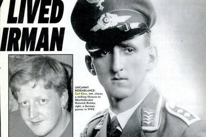 Incríveis coincidências indicam reencarnação de piloto nazista