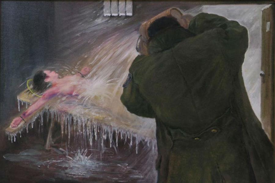 Tortura De Congelamento é Utilizada Em Praticantes Do