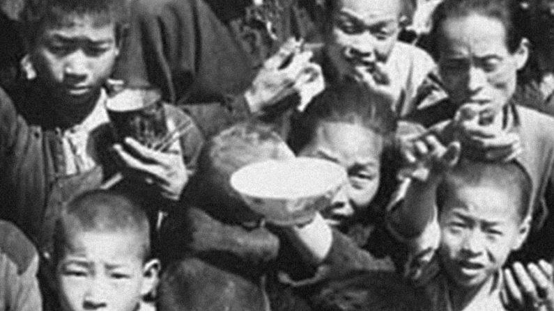 O horror da 'Grande Fome' de Mao Tsé-tung