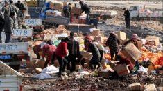 Pobreza leva chineses a consumirem alimentos destinados à destruição
