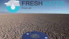 Dispositivo 'Fresh Water' transforma ar em água potável