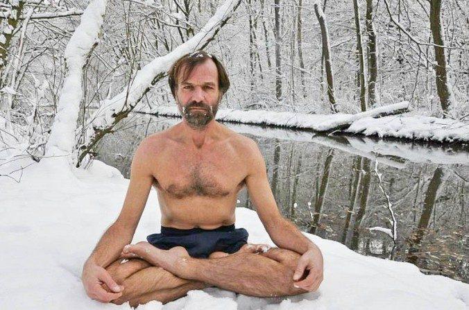 'Ice Man' em uma missão para comprovar o poder da mente