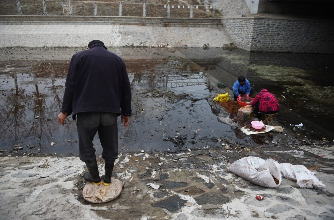 Deterioração de águas subterrâneas continua na China