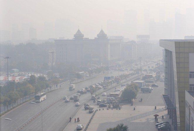 Poluição atmosférica mata florestas da China e pode afetar outros países