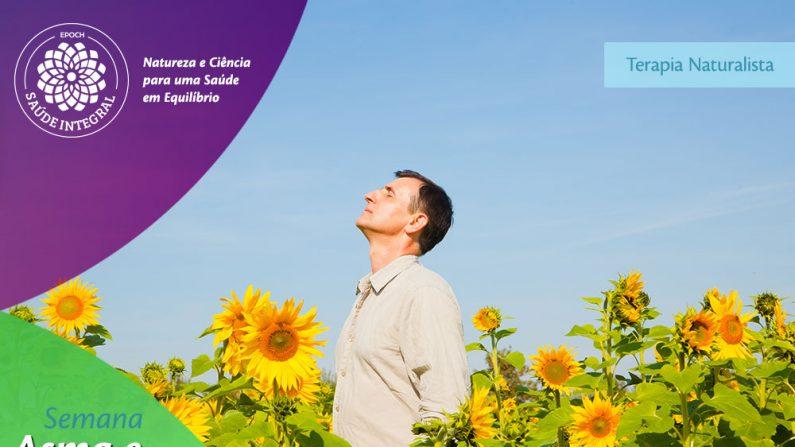 Psicossomática e recursos naturais para asma e bronquite