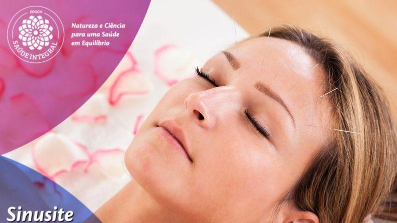 Tratamento da sinusite pela medicina chinesa