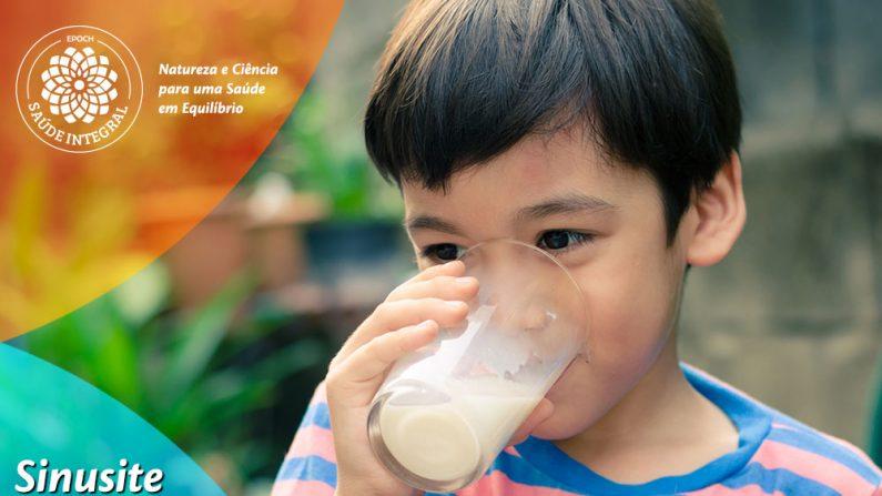 Saiba como o leite pode afetar a sinusite