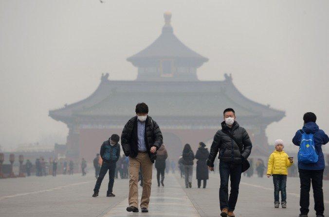 China precisa de 2 trilhões de yuans por ano para combater poluição