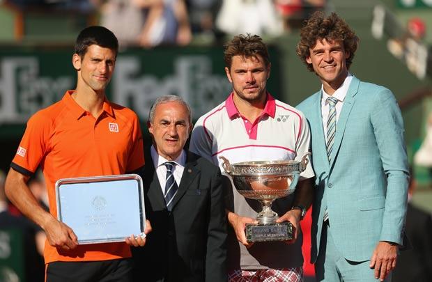Wawrinca fatura Roland Garros e frustra sonho de Djokovik