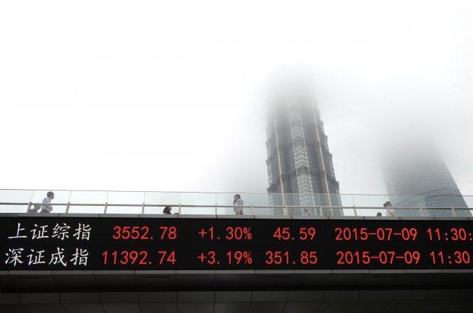 Após queda do mercado, autoridades chinesas culpam as vendas a descoberto