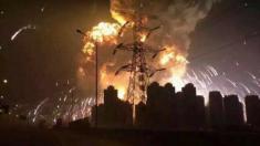 Grande explosão deixa pelo menos cinquenta mortos na China