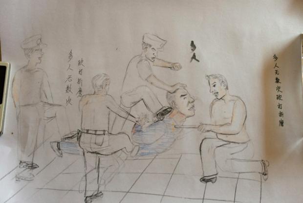 Desenhos de torturas praticadas na China revelam histórias chocantes