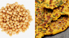 Omelete de grão-de-bico: receita deliciosa e prática