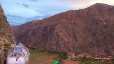 Conheça hotel no Peru onde você pode dormir pendurado em um penhasco