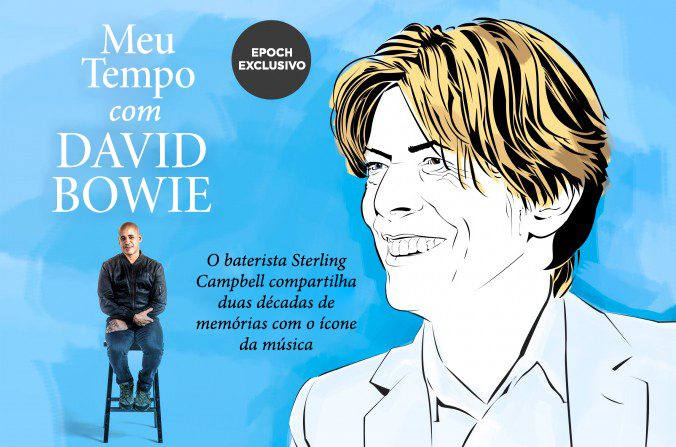 David Bowie: baterista conta sua história com o mito