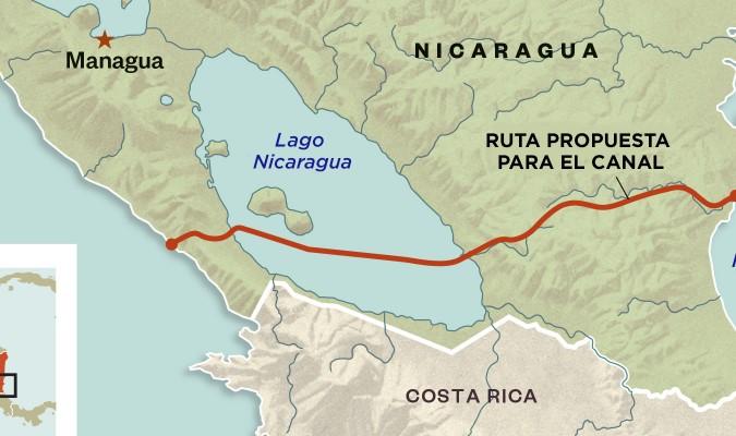 Canal da Nicarágua: a peça chave do plano de expansão da China