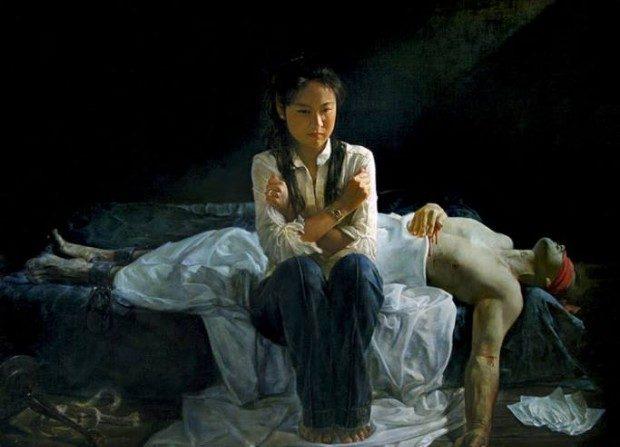 A arte que provoca lágrimas e reacende valores humanos